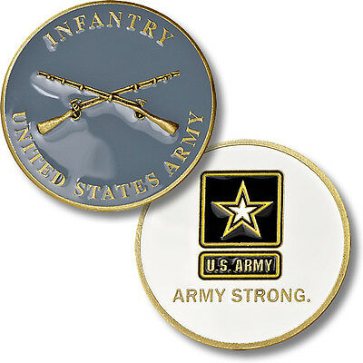 U.S. Army Strong - Infantry / Muskets - Bronze Challenge Coin