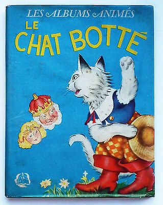 "Album ""le Chat Botte"" Les Albums Animes / J. Barbe 1948 / Jaquette D'origine"