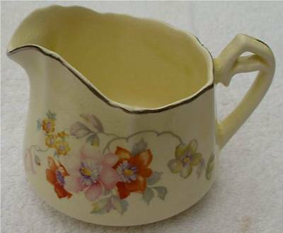 W. S. George CanaryTone 163A Creamer Vintage Collectible WS George w s george