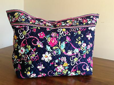 NWT - Authentic Vera Bradley Retired XL Tote - Grand Tote in Ribbons