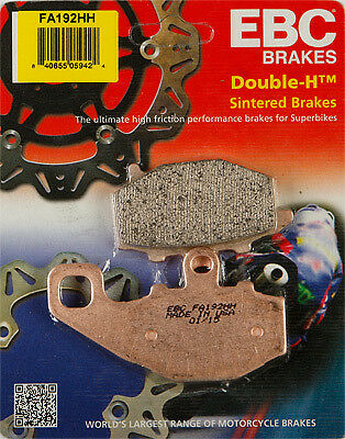 EBC Double-H Sintered Metal Brake Pads FA192HH Rear 61-1923 15-192H FA192HH