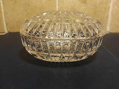 Vintage Egg shaped Dish with Lid