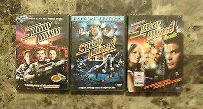AWESOME! Starship Troopers Trilogy DVDs - FREE SHIPPING!