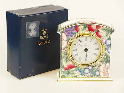 Royal Doulton  Clock  Orchard Hill Pattern   H5233
