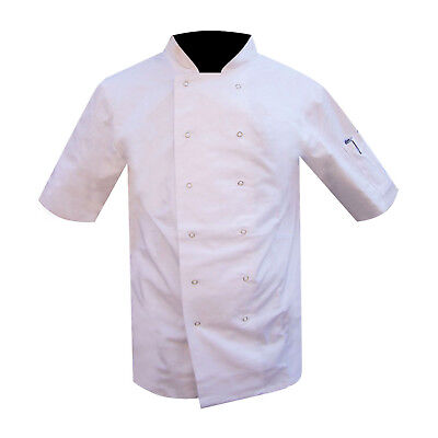 Chefs Jacket Uniform Chef Clothing White Mesh Back Amazing Low Prices QUALITY