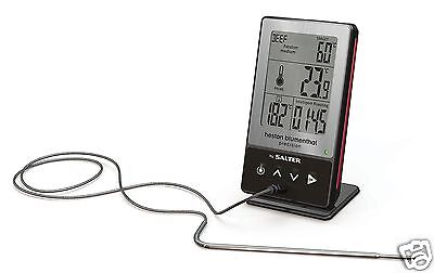 Salter 540 HBSSCR Heston Blumenthal 5-in-1 Digital Food Oven Cooking Thermometer