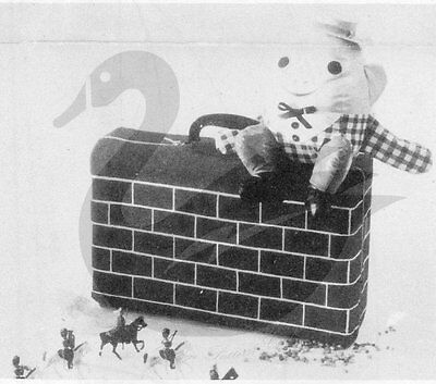 REPRODUCTION VINTAGE HUMPTY Dumpty Sat on a Wall Sewing Pattern ...