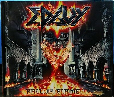 Edguy - Hall Of Flames: The Best And The Rare (2 CDs, 2004, AFM Records,Germany)