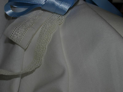 Ivory Brushed Winter Cotton Twill Fabric - Smocking, etc -147cm x per half mtr