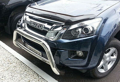 Isuzu D-Max DMAX Nudge Bar Stainless Steel Grille Guard 2012-2017