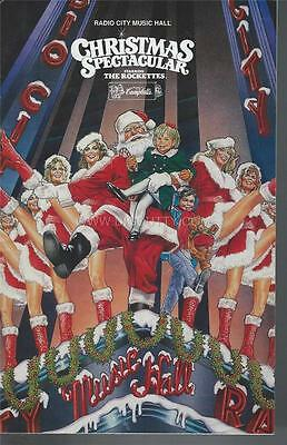 Programme 1990 - CHRISTMAS SPECTACULAR Radio City Music Hall