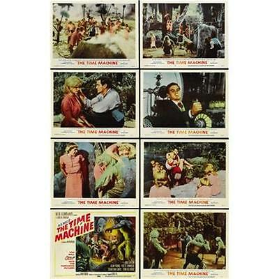 """TIME MACHINE"" (H.G. Wells) - Full Set of 8 US Lobby Cards - NEW & SEALED"