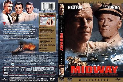 Midway ~ New DVD Collector's Edition ~ Charlton Heston (1976) UPHE