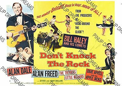 Wall Art Movie Poster Vintage Re-print Don't Knock The Rock - Various sizes