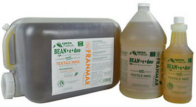 New- 1 Gallon- Franmar Chemical BEAN-e-Doo Textile Ink Cleaner BE1GWD