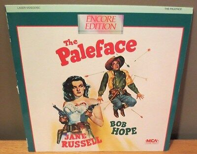 THE PALEFACE extended play LASERDISC Hope Russell
