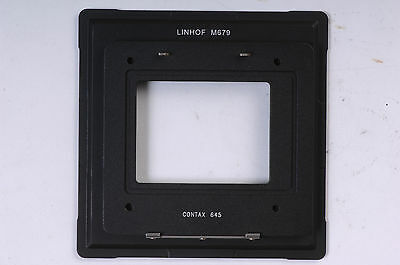 Contax 645 Back For Linhof M679 Adapter F Phase One Sinar Leaf Hasselblad