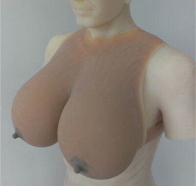 Large Realistic silicone boobs Crossdress huge Drag Queen false breast forms