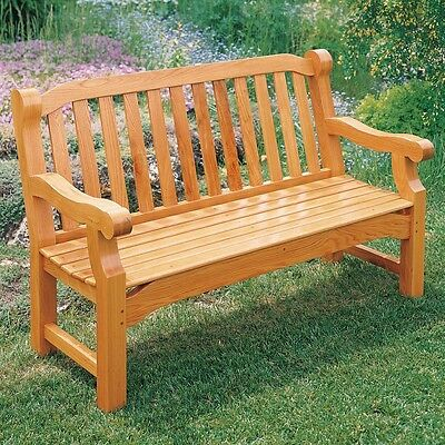 English Garden Bench Plan - Media   Woodworking Plans   Outdoor Plans