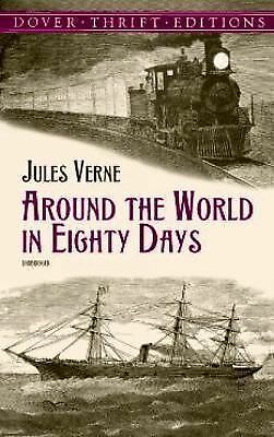 Around the World in 80 Days by Jules Verne (2000, Paperback)