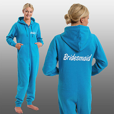 Custom Printed Bridesmaid Onesie Personalised With Any Name. Kids & Adults Sizes