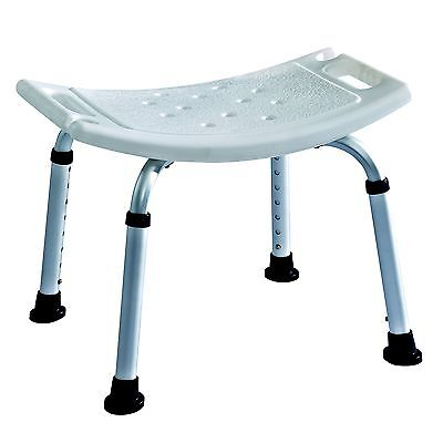 LIghtweight Aluminium Bath chair / Shower Seat Stool Bench Adjustable Height