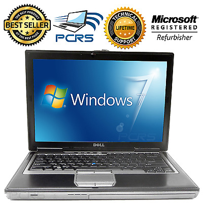 DELL Latitude Laptop Computer Windows Core 2 Duo 40GB DVD WiFi Notebook HD