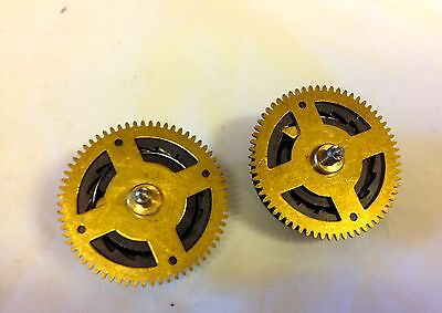 ~2~New Cuckoo Clock 8 Day Time Side Chain Wheel Gear Regula Parts Eight (C-105)