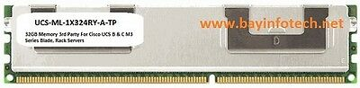 UCS-ML-1X324RY-A 32GB Memory 3rd Party For Cisco UCS B & C  Blade Rack Servers