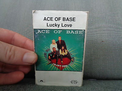 ACE OF BASE_Lucky Love cassingle_used cassette_ships from AUS!_R2