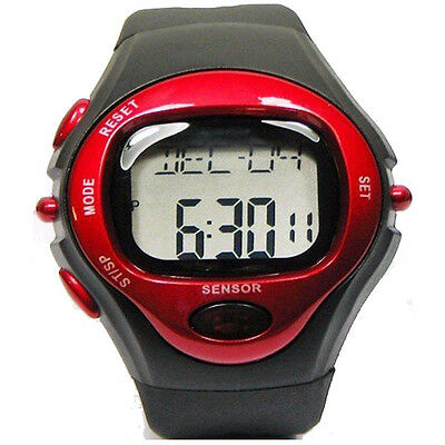 Digital Calorie Counter Pulse Heart Rate Monitor Stop Watch Sport Wristwatches