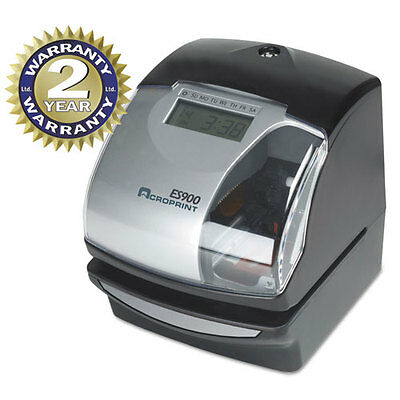 Acroprint ES900 Digital Automatic 3-in-1 Time Clock, Multifunctional, Electronic