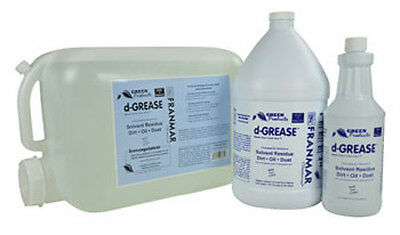 NEW- Franmar Chemical 5 Gallon d-Grease DG5GWD