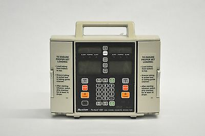 Baxter Flo-Gard 6301 Infusion IV Pump-90 Day Warranty (Patient Ready)