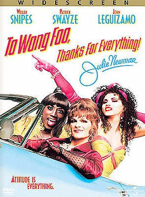 To Wong Foo, Thanks for Everything! Julie Newmar (DVD, 2003), SCRATCH FREE