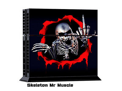 MR MUSCLE Cool/97 DECAL SKIN PROTECTIVE STICKER for SONY PS4 CONSOLE CONTROLLER