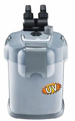 Biopro External Canister Filter integral UV 1800 lph tanks to 500l with media
