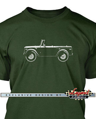 International Scout 1961 Serie 80 T-Shirt for Men - Multiple Colors and Sizes