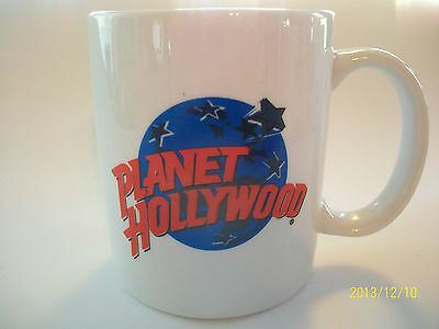 "Planet Hollywood 3 3/4"" White Cup With Planet Hollywood On Front - LINYI"