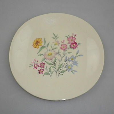Vintage Clarice Cliff Plate by Royal Staffordshire - Pink Susan