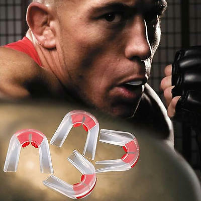 Boxing Basketball Plasticity Gum Shield Piece Teeth Protector Mouth Guard 1Pc