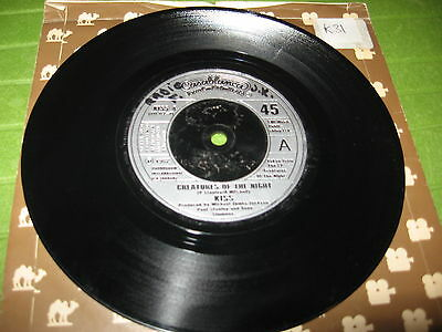 """45 Giri 7"""" Kiss - Creatures Of The Night / Rock And Roll All Nite Uk Press"""