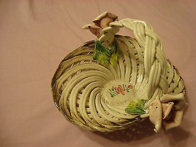 Porcelain Basket Made in Italy