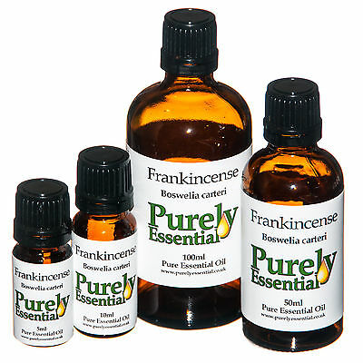 Frankincense Essential Oil 5ml 10ml 50ml 100ml 100% Pure & Natural, Purely