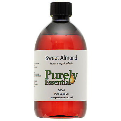 Sweet Almond Oil 5ml 10ml 50ml 100ml 100% Pure & Natural, Cosmetic Grade