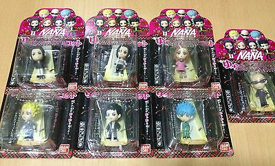 Bandai Anime Nana Yurarin Mascot Set of 7