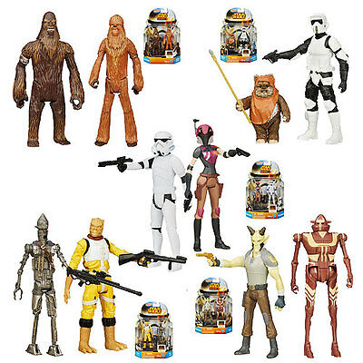 Hasbro 2015 3.75in Star Wars Mission Series Action Figures Wave 5 Case