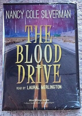 The Blood Drive by Nancy Cole Silverman (2012, Audio CD) ~ Paranormal