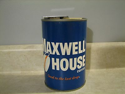 VINTAGE MAXWELL HOUSE COFFEE CAN ~~CAN OPENER