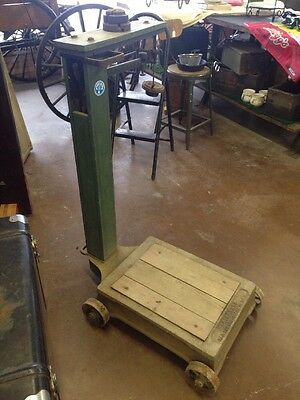 Vintage 500lb Fairbanks Platform Scale